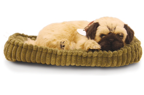 perfect petzzz pug precious petzzz the lifelike breathing huggable pet 5806